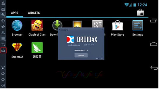 Phần mềm Android Droid4X