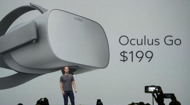 Mặt hàng công nghệ Kính thực tế ảo Oculus Go